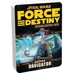 Star Wars: Force and Destiny: Specialization Deck Seeker Navigator