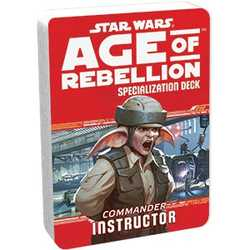 Star Wars: Age of Rebellion: Specialization Deck - Instructor