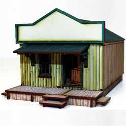 28mm Dead Mans Hand Side Street Building 1