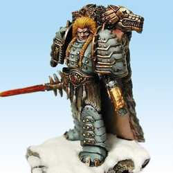 Ronin Models: Leman Russ, Primarch of the Space Wolves (Metall, Limited Edition)