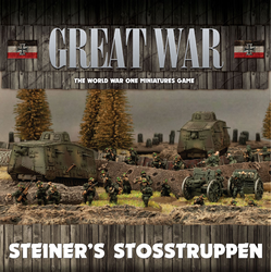 German: Steiner's Stosstruppen (Army Box, 2019)