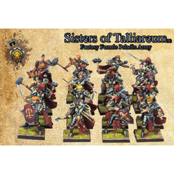 Shieldwolf Miniatures: Sisters of Talliareum (20)
