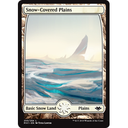 Magic löskort: Modern Horizons: Snow-Covered Plains
