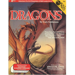 ADD: Role Aids, Dragons (1986)