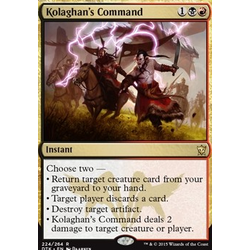 Magic löskort: Dragons of Tarkir: Kolaghan's Command
