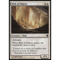 Magic löskort: Rise of the Eldrazi: Wall of Omens