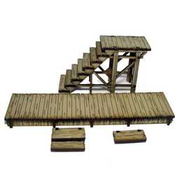 28mm Dead Mans Hand Stairway and Boardwalk