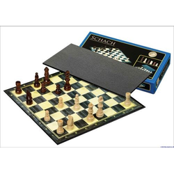 Schack/Chess Set Standard, field 30 mm