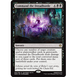 Magic löskort: War of the Spark: Command the Dreadhorde