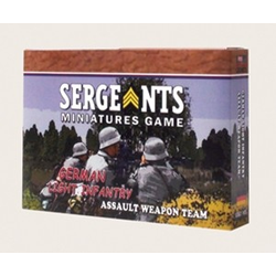 Sergeants Miniature Game: German Assault Team