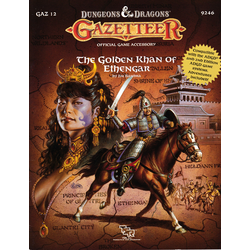 D&D Gazetteer: GAZ12, The Golden Khan of Ethengar (1989)