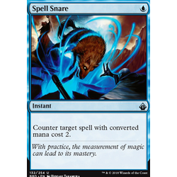 Magic löskort: Battlebond: Spell Snare