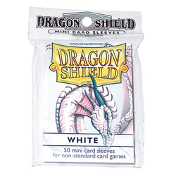Dragon Shield Sleeves - Mini White (50 ct. in bag)