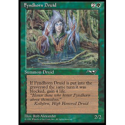 Magic löskort: Alliances: Fyndhorn Druid v.2