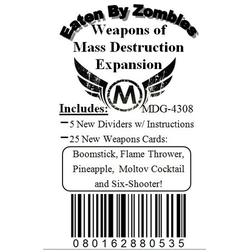 Eaten by Zombies!: Weapons of Mass Destruction Expansion