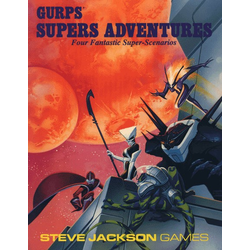 GURPS: Supers Adventures (begagnad)