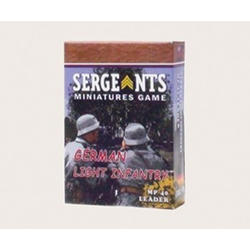 Sergeants Miniature Game: German MP40 Leader