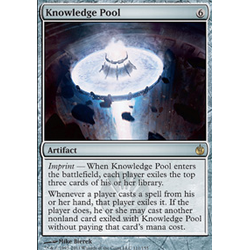 Magic löskort: Mirrodin Besieged: Knowledge Pool (Foil)