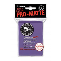 Ultra Pro Deck Protector Sleeves Pro-Matte Purple (50)