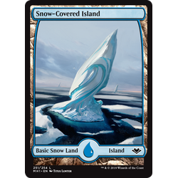 Magic löskort: Modern Horizons: Snow-Covered Island
