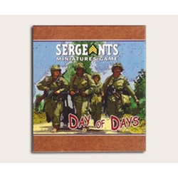 Sergeants Miniature Game: Day of Days