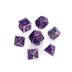 Rainbow Series: Purple 7-die set