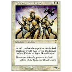 Magic löskort: 7th Edition: Kjeldoran Royal Guard