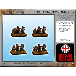 British Vickers HMG Teams x 4