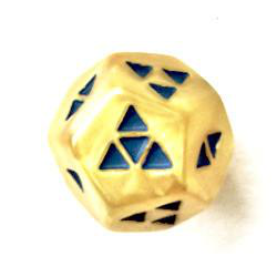 Triplefour: Marble Yellow with Blue (Limited Edition)