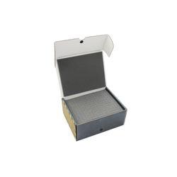 Safe & Sound Half-sized Medium Box with 95 mm raster foam tray