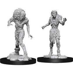 Nolzur's Marvelous Miniatures (unpainted): Drowned Assassin & Drowned Asetic