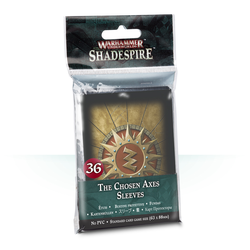 Shadespire: Chosen Axes Sleeves (36)