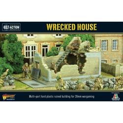 Warlord Scenery: Wrecked House