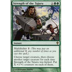 Magic löskort: Worldwake: Strength of the Tajuru