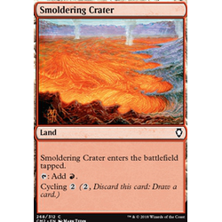 Magic löskort: Commander Anthology 2018: Smoldering Crater