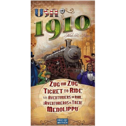 Ticket to Ride: 1910 Expansion