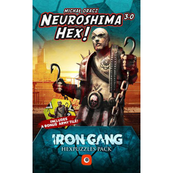 Neuroshima Hex: Iron Gang Hexpuzzles Pack