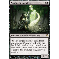 Magic löskort: Worldwake: Agadeem Occultist