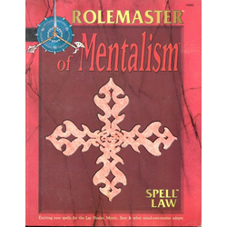 Rolemaster: Spell Law: of Mentalism