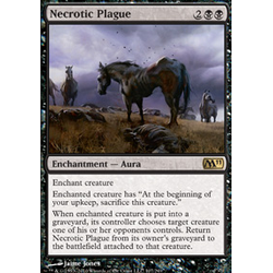 Magic Löskort: Core Set 2011 (M11): Necrotic Plague