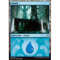 Magic löskort: Guild Kits: Island (Dimir)