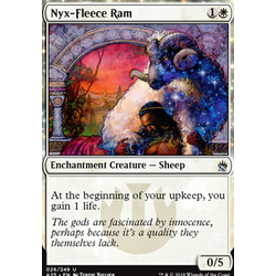 Magic löskort: Masters 25: Nyx-Fleece Ram