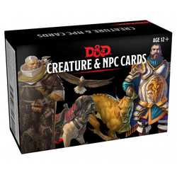 D&D 5.0: Monster Cards - NPCs & Creatures