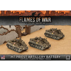 American M7 Priest Armored Artillery Battery (plastic)