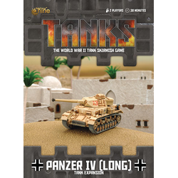 TANKS: German Panzer IV (Long)