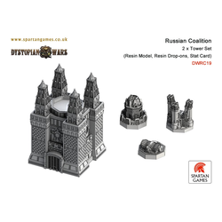 Russian Coalition Tower Set (2)