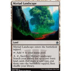 Magic löskort: Masters 25: Myriad Landscape