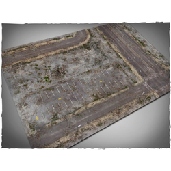 DCS Game Mat Walking Dead City 4x6 ~ 122x183cm (Mousepad)