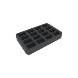 Feldherr 40mm Half-size foam tray with 16 Slots - Star Wars Legion