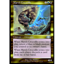 Magic löskort: Planeshift: Marsh Crocodile
